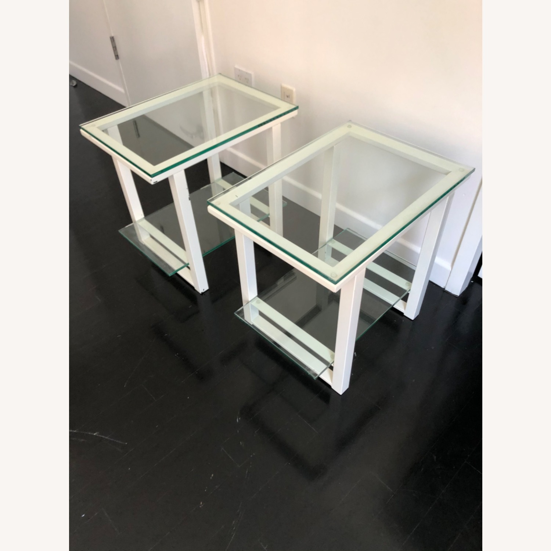 Crate & Barrel End Tables - image-1