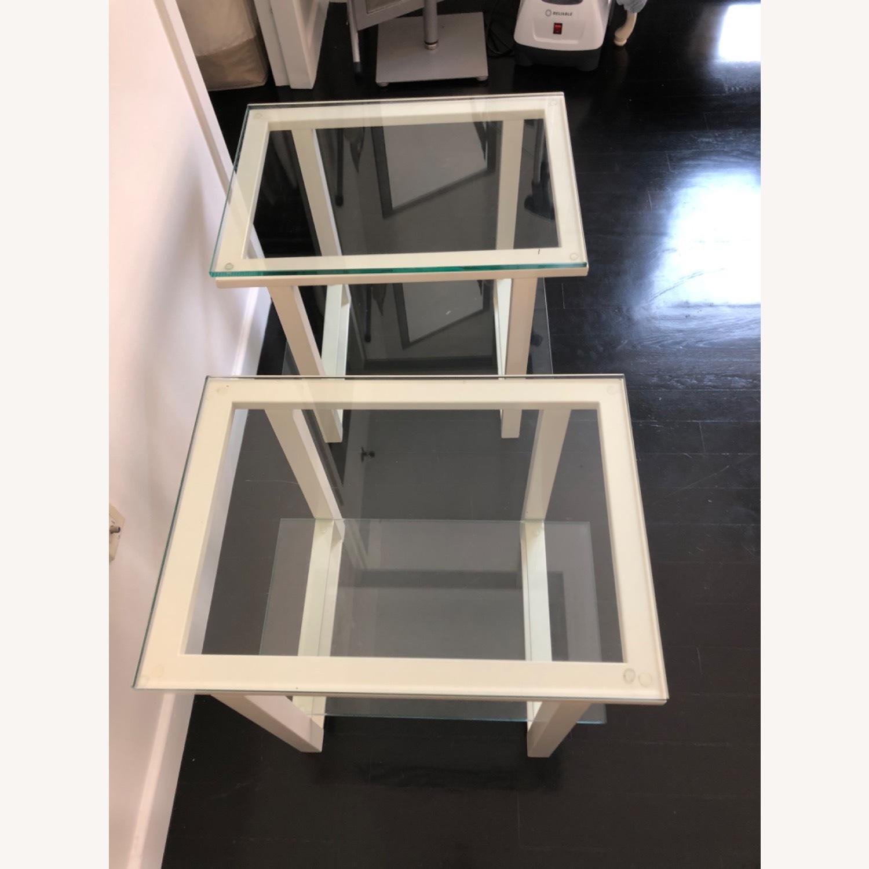 Crate & Barrel End Tables - image-4
