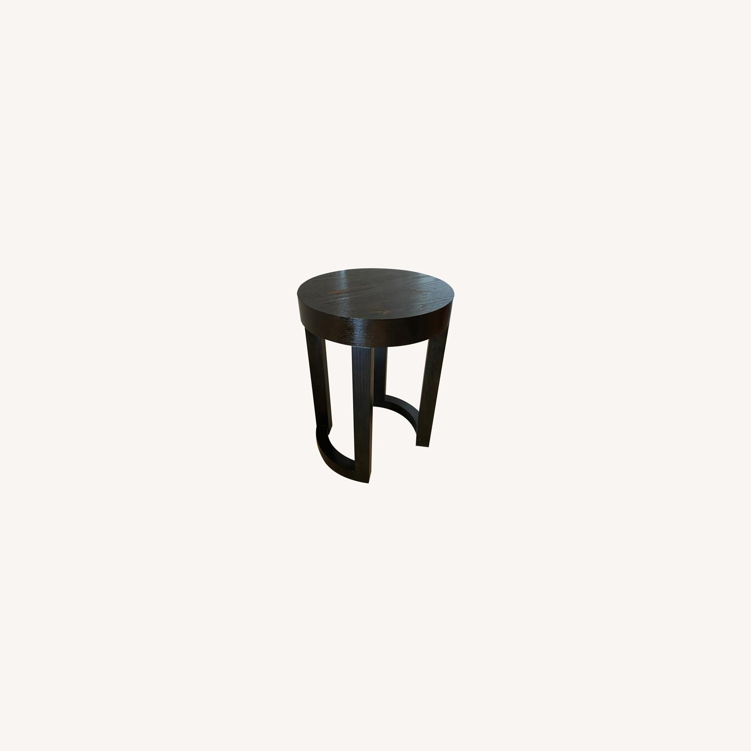 Wood Heavy Side Table - image-0