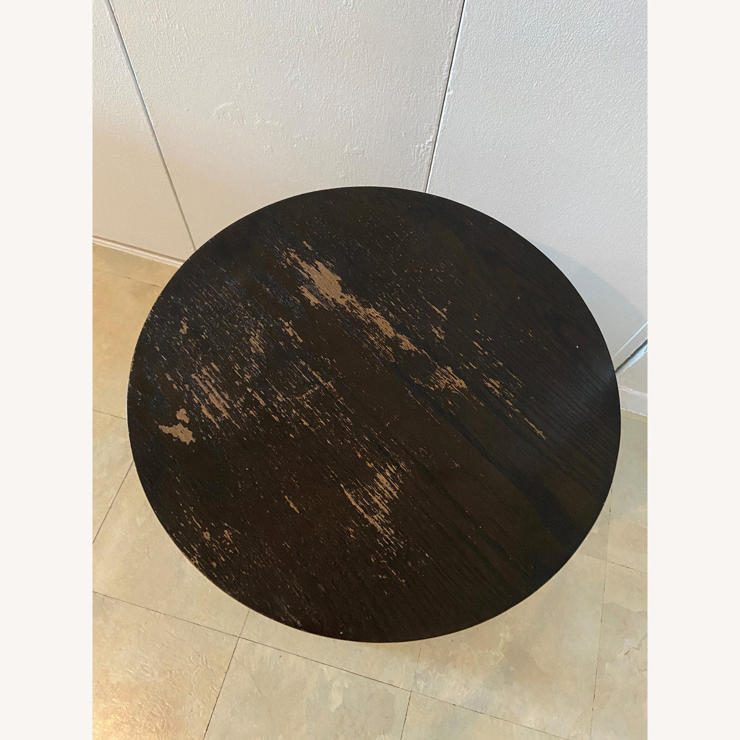 Wood Heavy Side Table - image-1