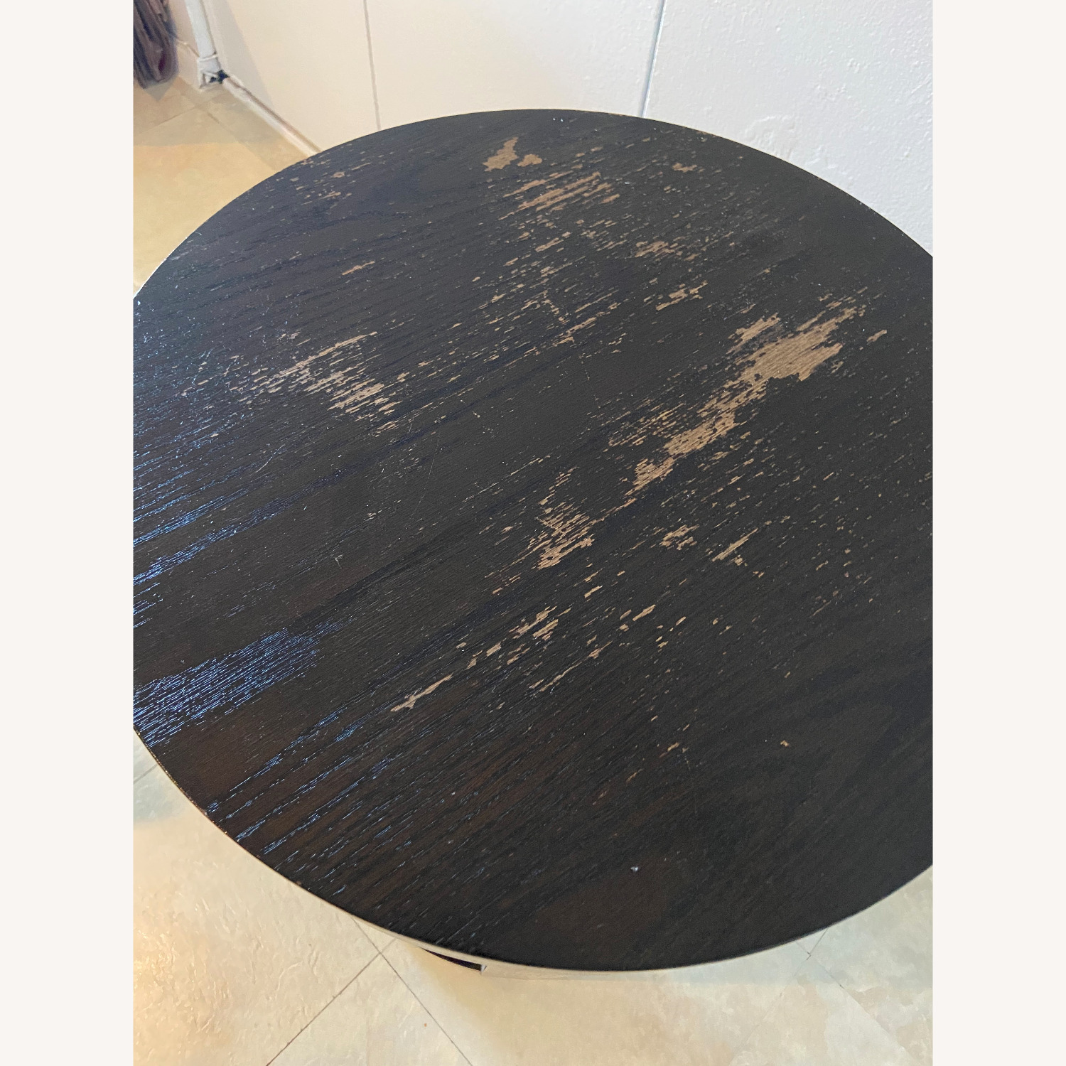 Wood Heavy Side Table - image-5