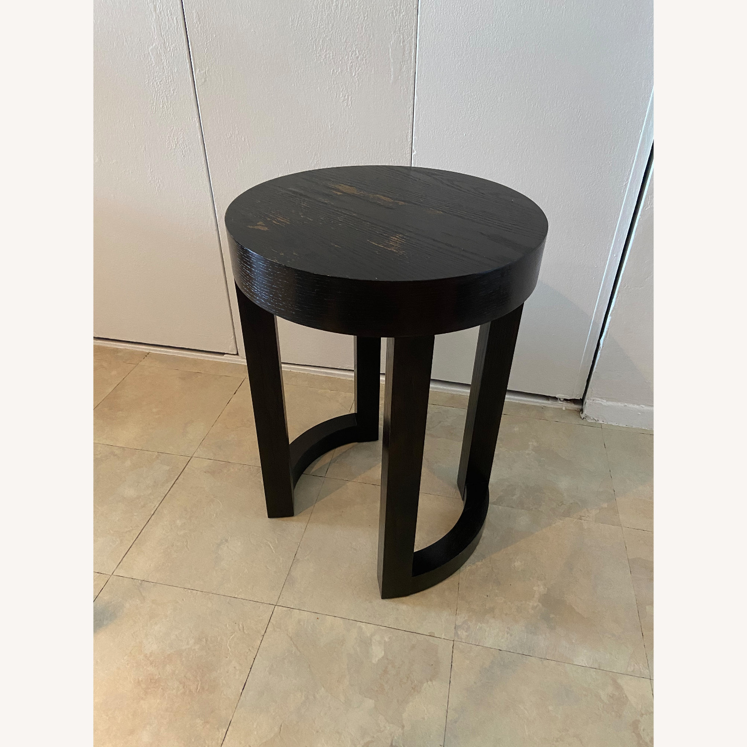 Wood Heavy Side Table - image-2