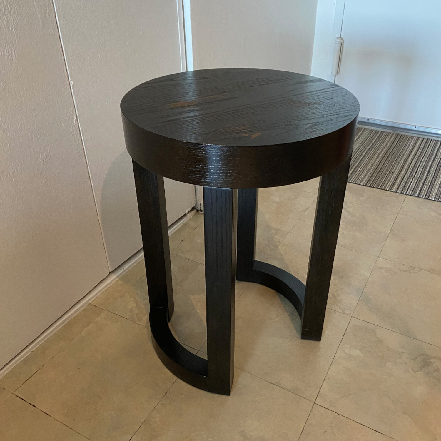 Wood Heavy Side Table - image-9