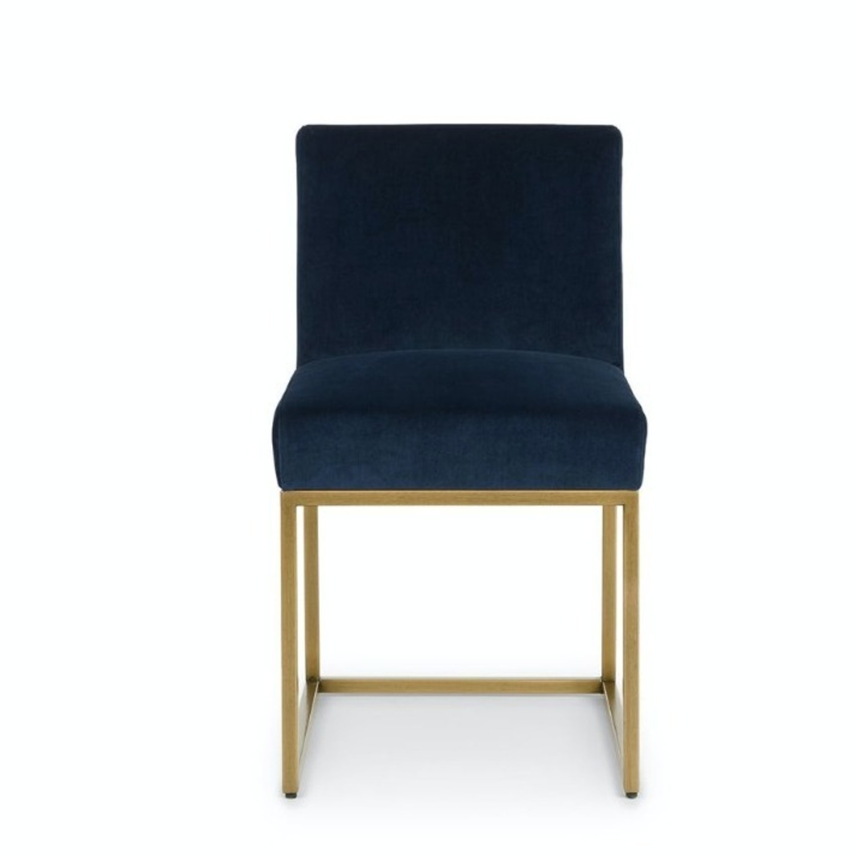 Article Blue Velvet Chair - image-9