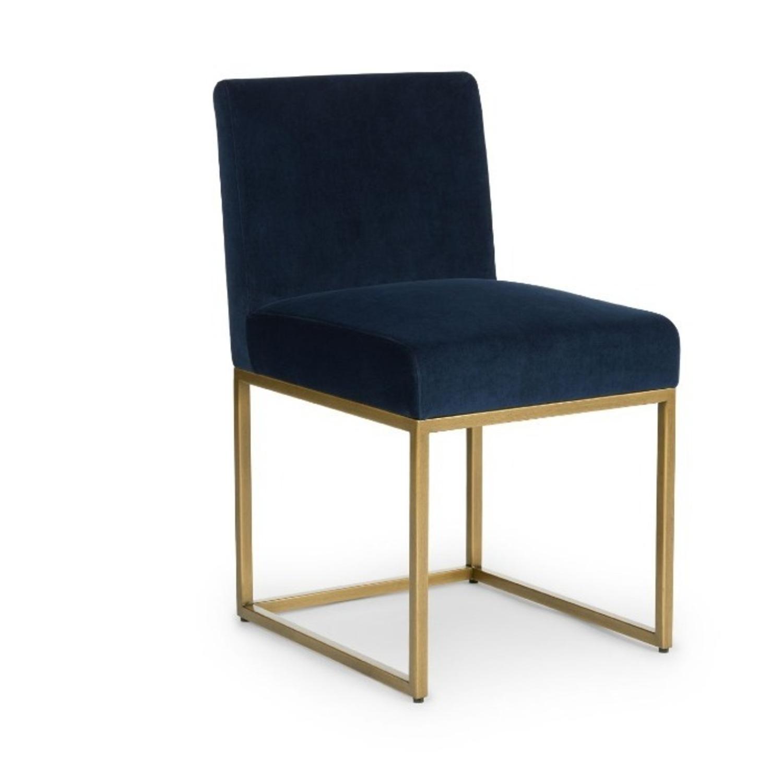 Article Blue Velvet Chair - image-8