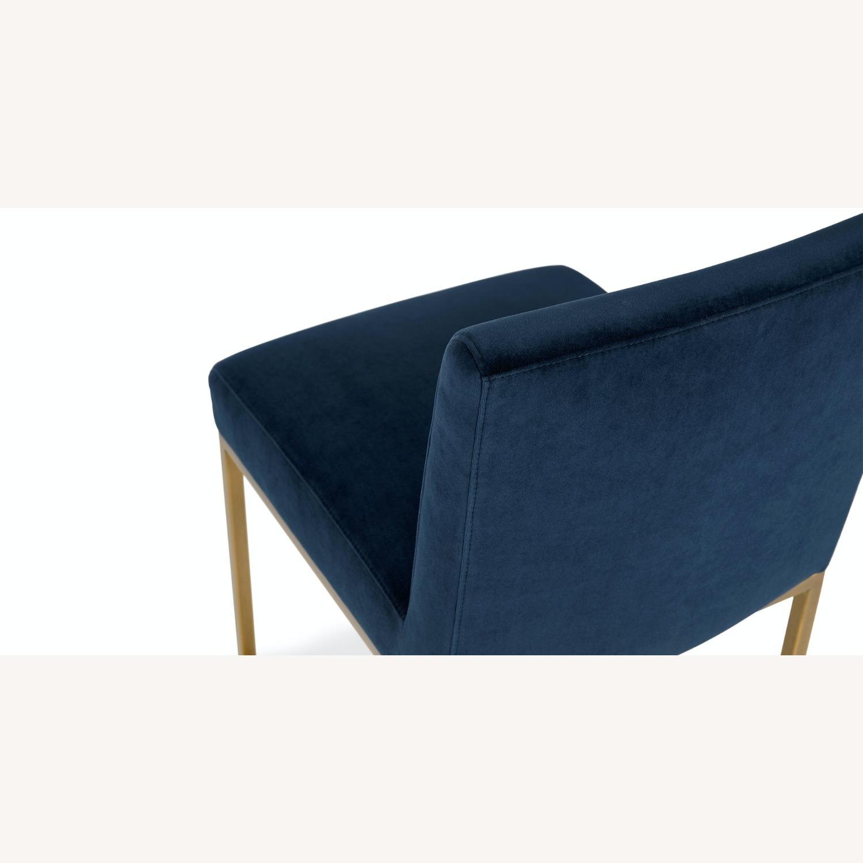 Article Blue Velvet Chair - image-6