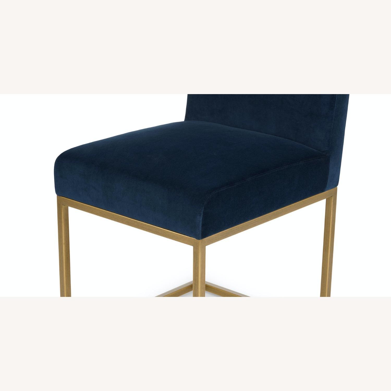 Article Blue Velvet Chair - image-3