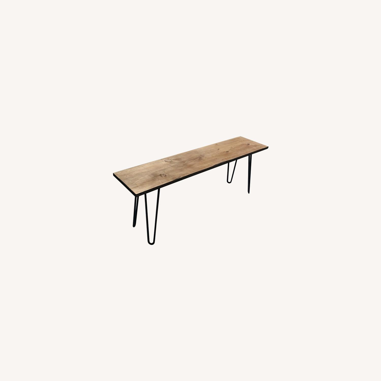 Handmade Coffee Table - Mid-Century Modern - image-3