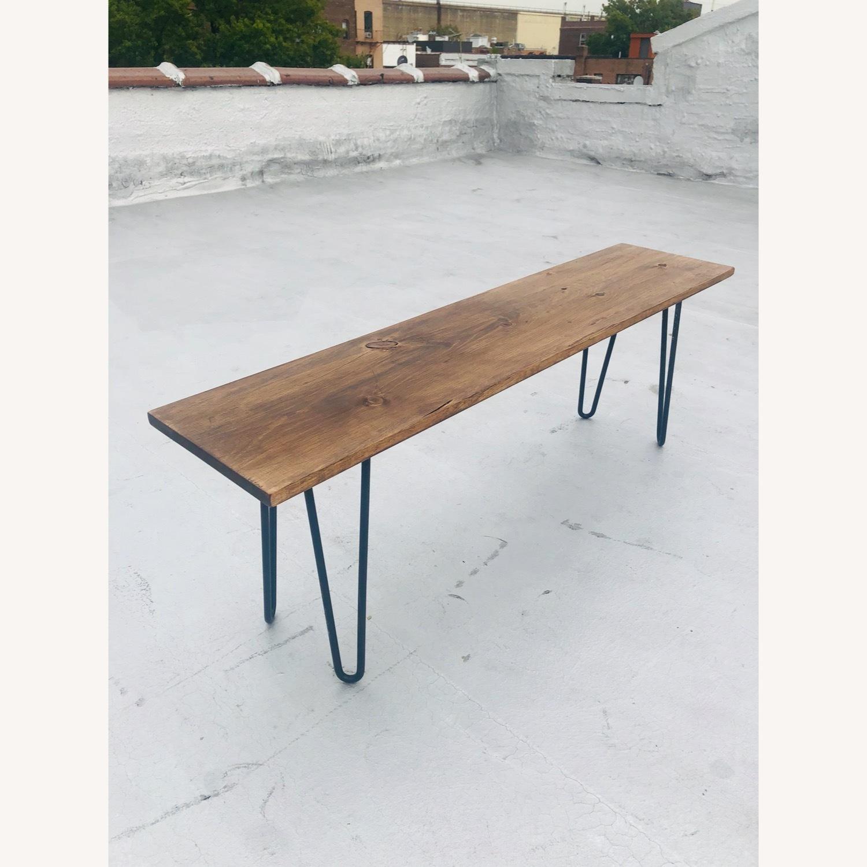 Handmade Coffee Table - Mid-Century Modern - image-7