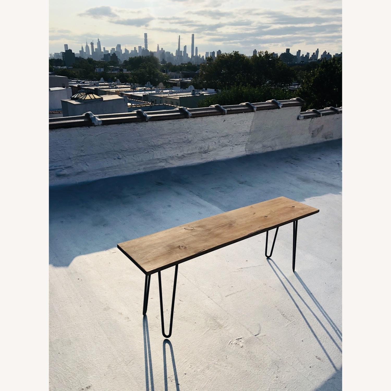 Handmade Coffee Table - Mid-Century Modern - image-0