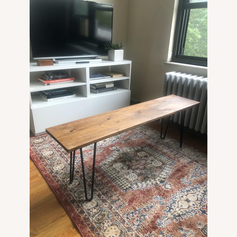 Handmade Coffee Table - Mid-Century Modern - image-4