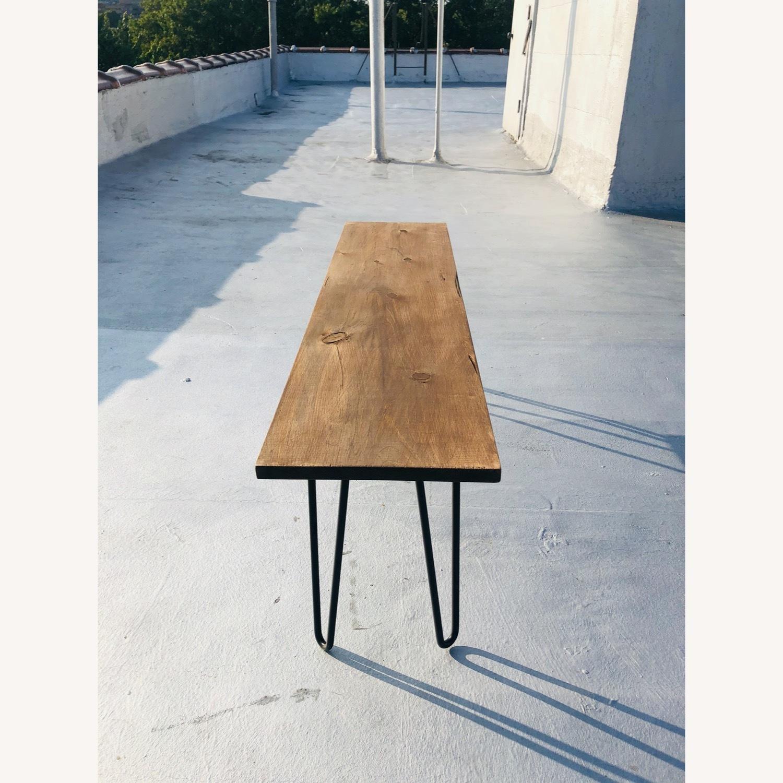 Handmade Coffee Table - Mid-Century Modern - image-1