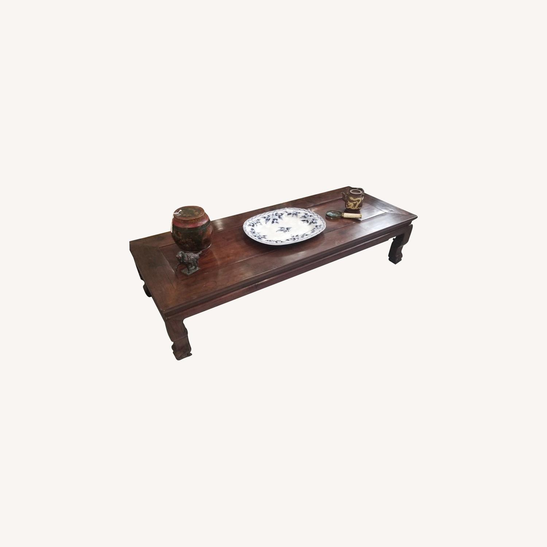 Rosewood Opium Table - image-0