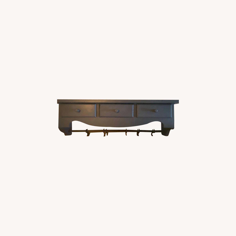 Wooden Wall Display Rack - image-0