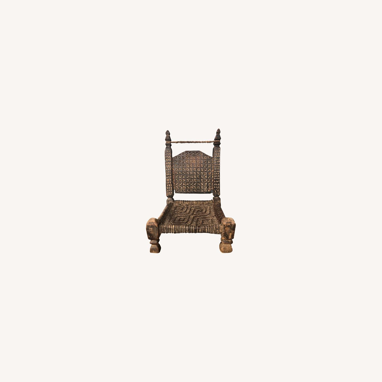 Tibetan Meditation Chair - image-0