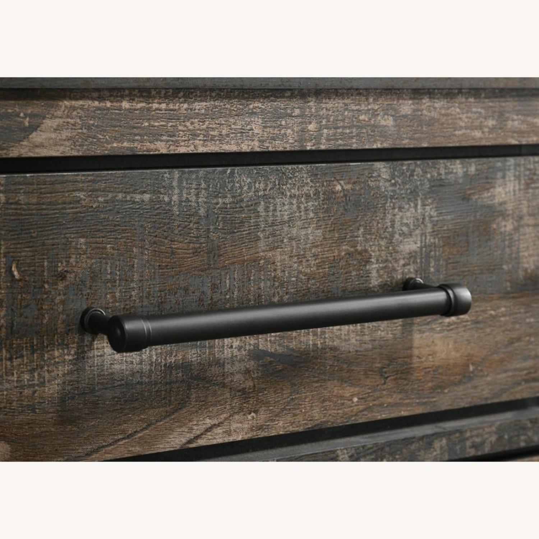 9-Drawer Dresser In Weathered Dark Brown - image-3
