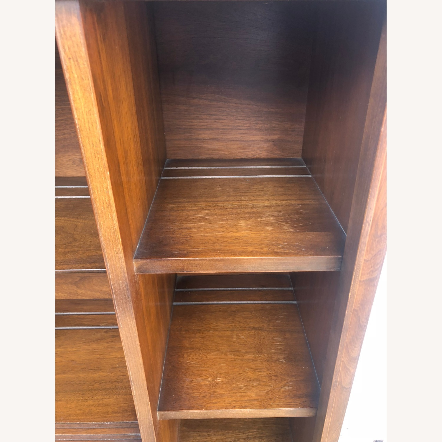 Mid Century Two Piece China Cabinet - image-18