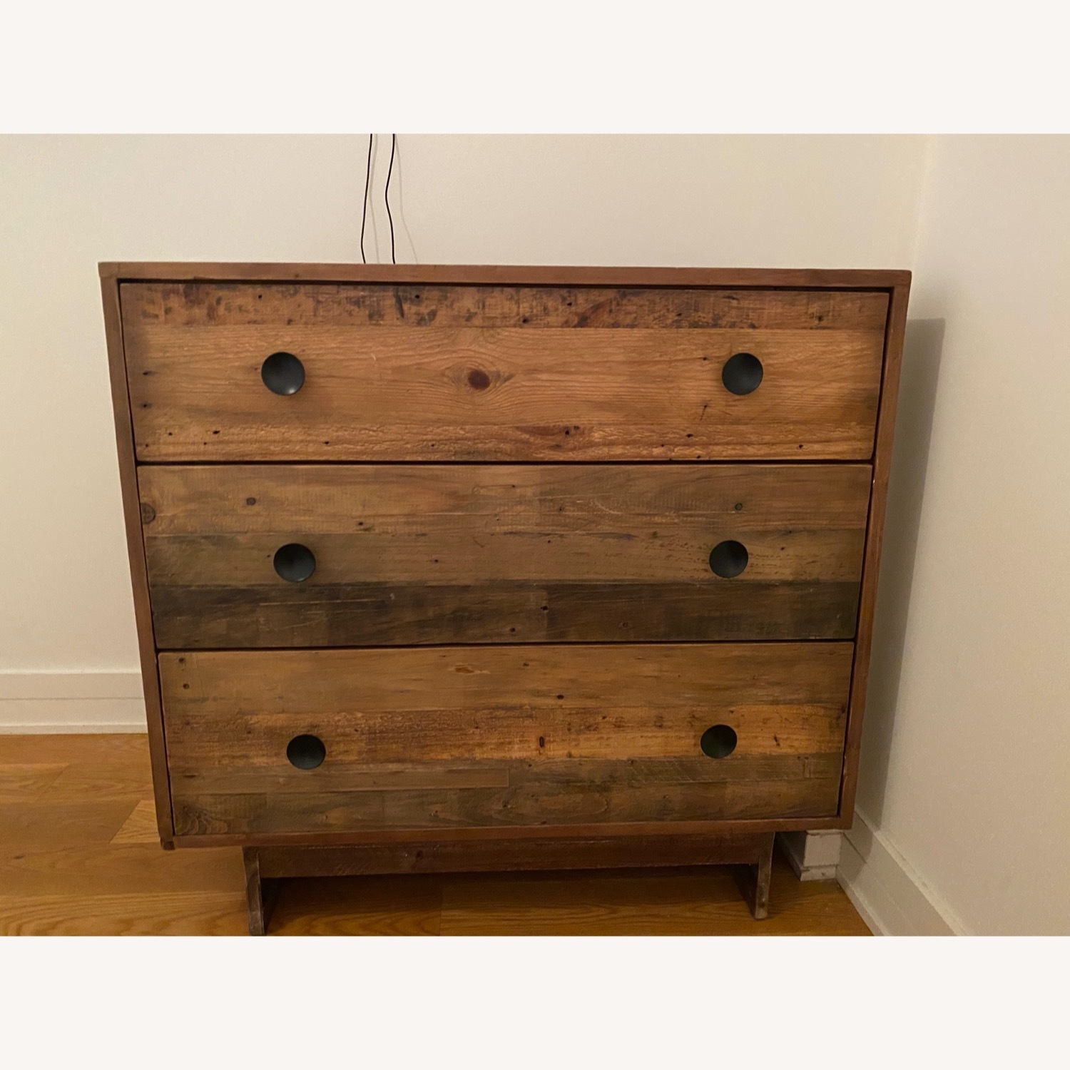 West Elm Reclaimed Wood 3-Drawer Dresser - image-1