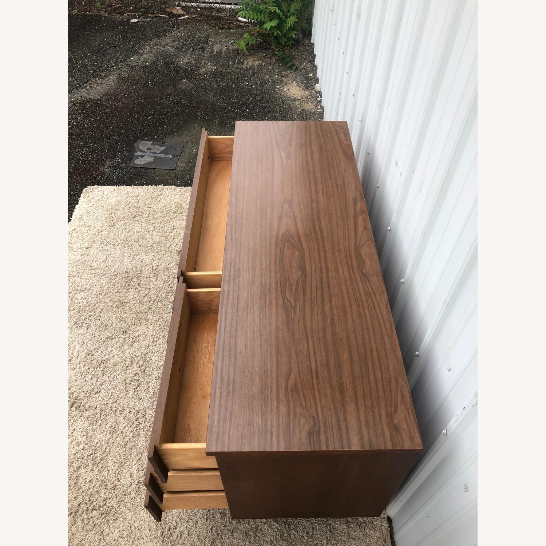 Mid Century Six Drawer Dresser with Mirror - image-13