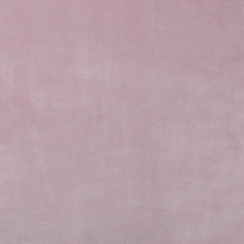 Modern Sofa Bed Upholstered In Pink Velvet Fabric - image-3