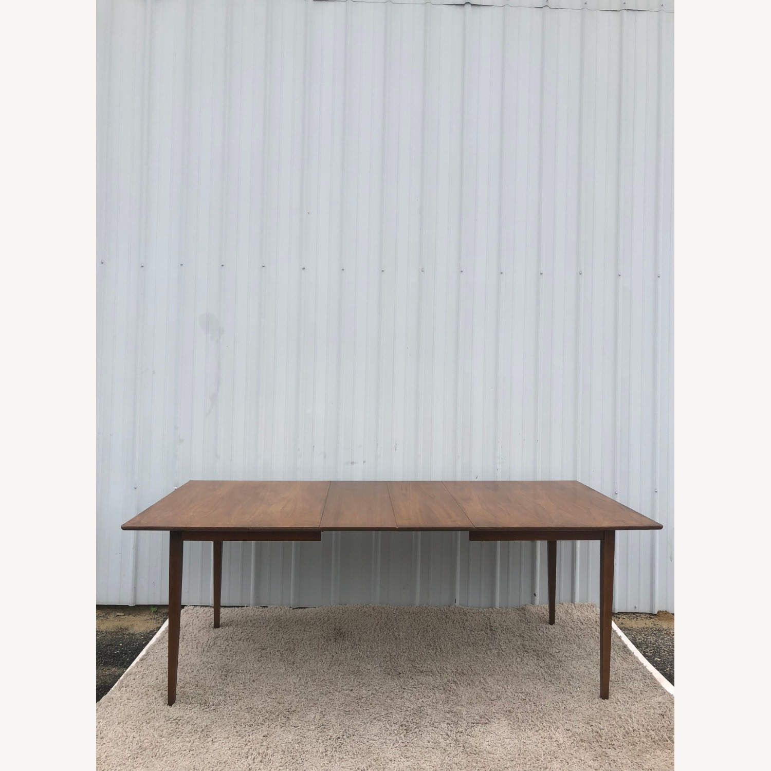 Mid Century Walnut Dining Table with 2 Leafs - image-18
