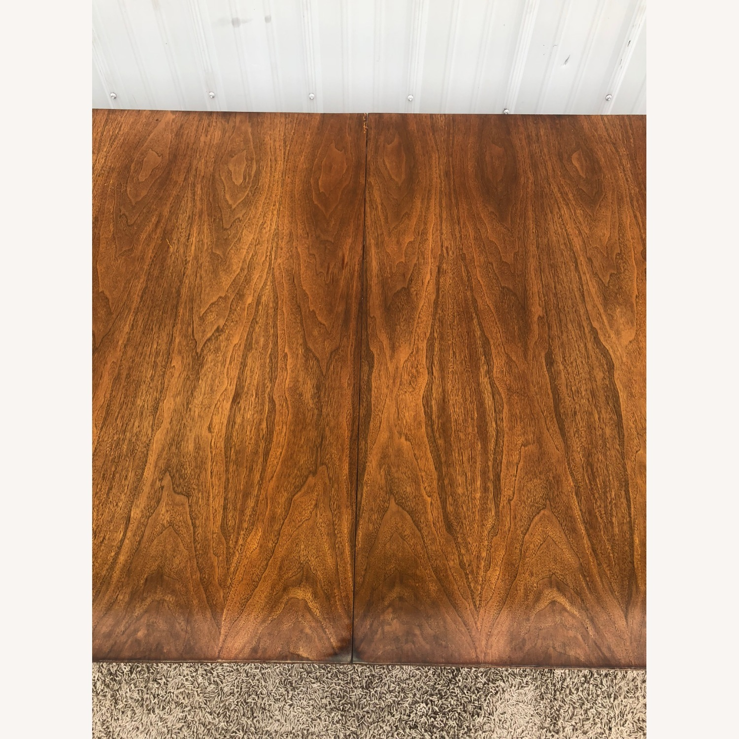 Mid Century Walnut Dining Table with 2 Leafs - image-4