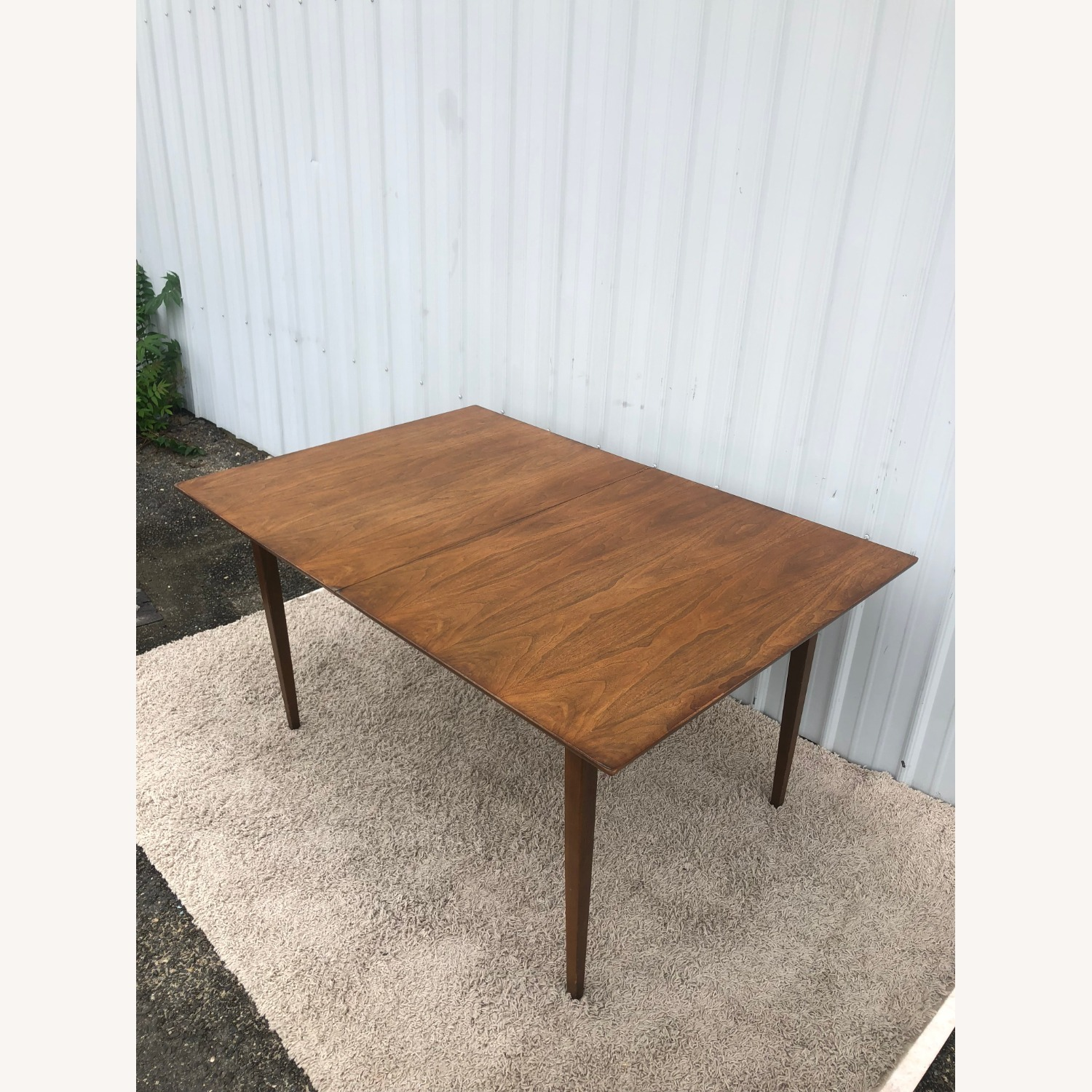 Mid Century Walnut Dining Table with 2 Leafs - image-7