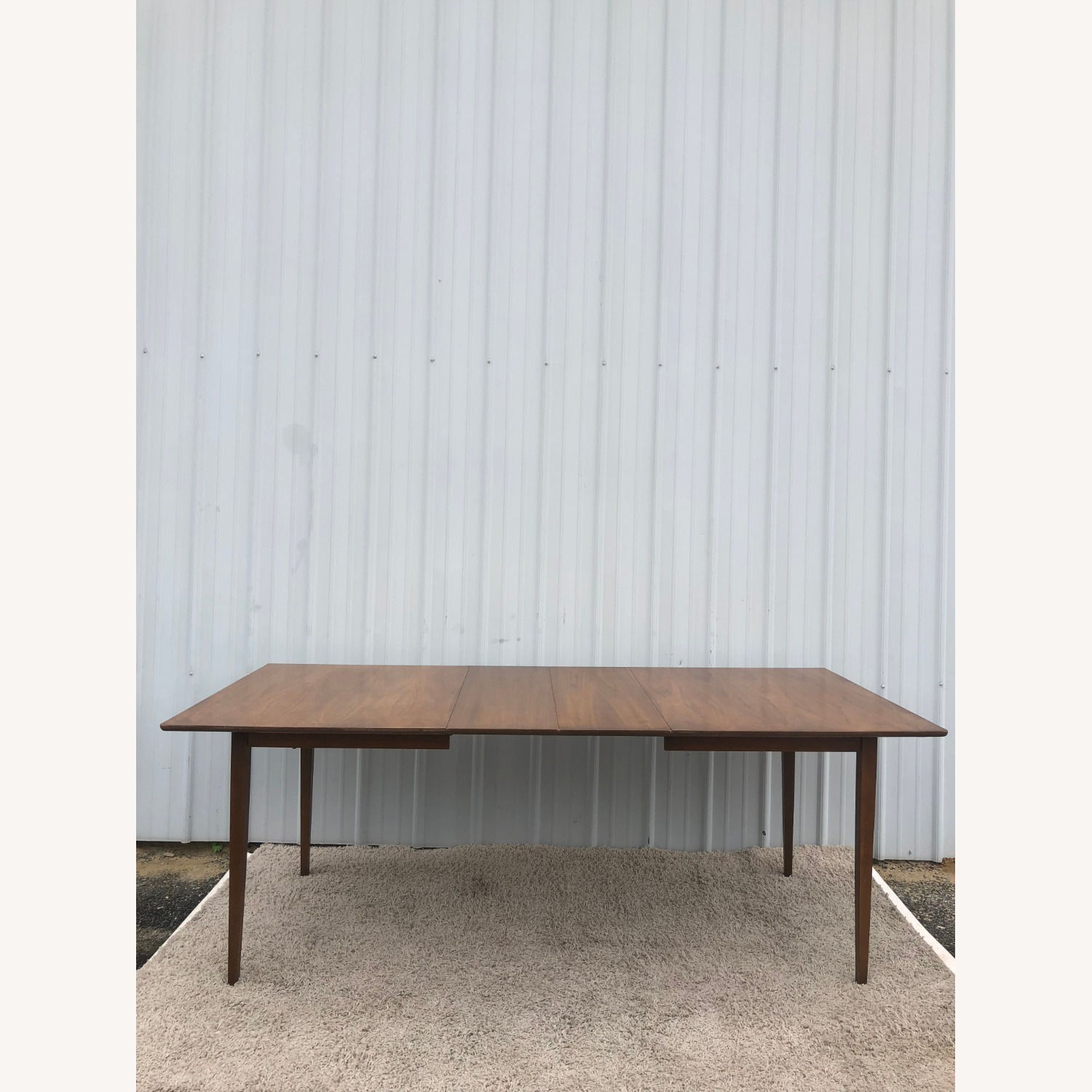 Mid Century Walnut Dining Table with 2 Leafs - image-13