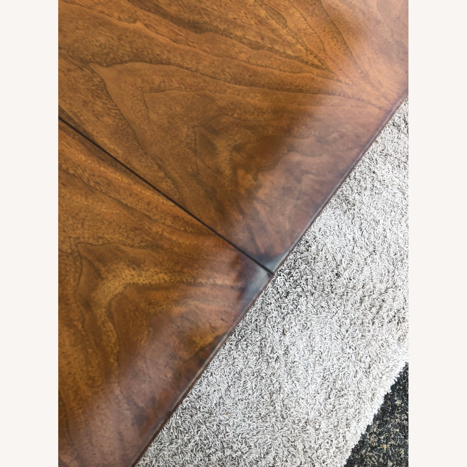 Mid Century Walnut Dining Table with 2 Leafs - image-10