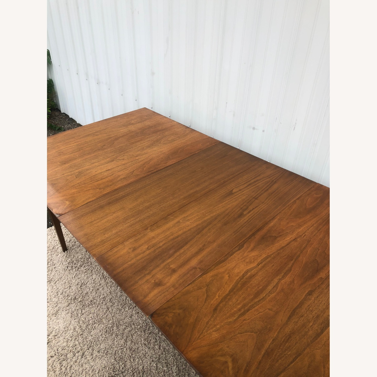 Mid Century Walnut Dining Table with 2 Leafs - image-15