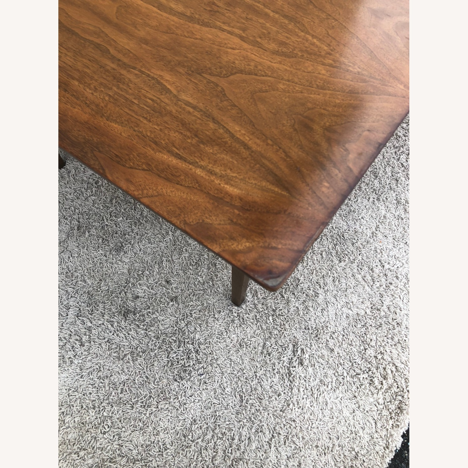 Mid Century Walnut Dining Table with 2 Leafs - image-9