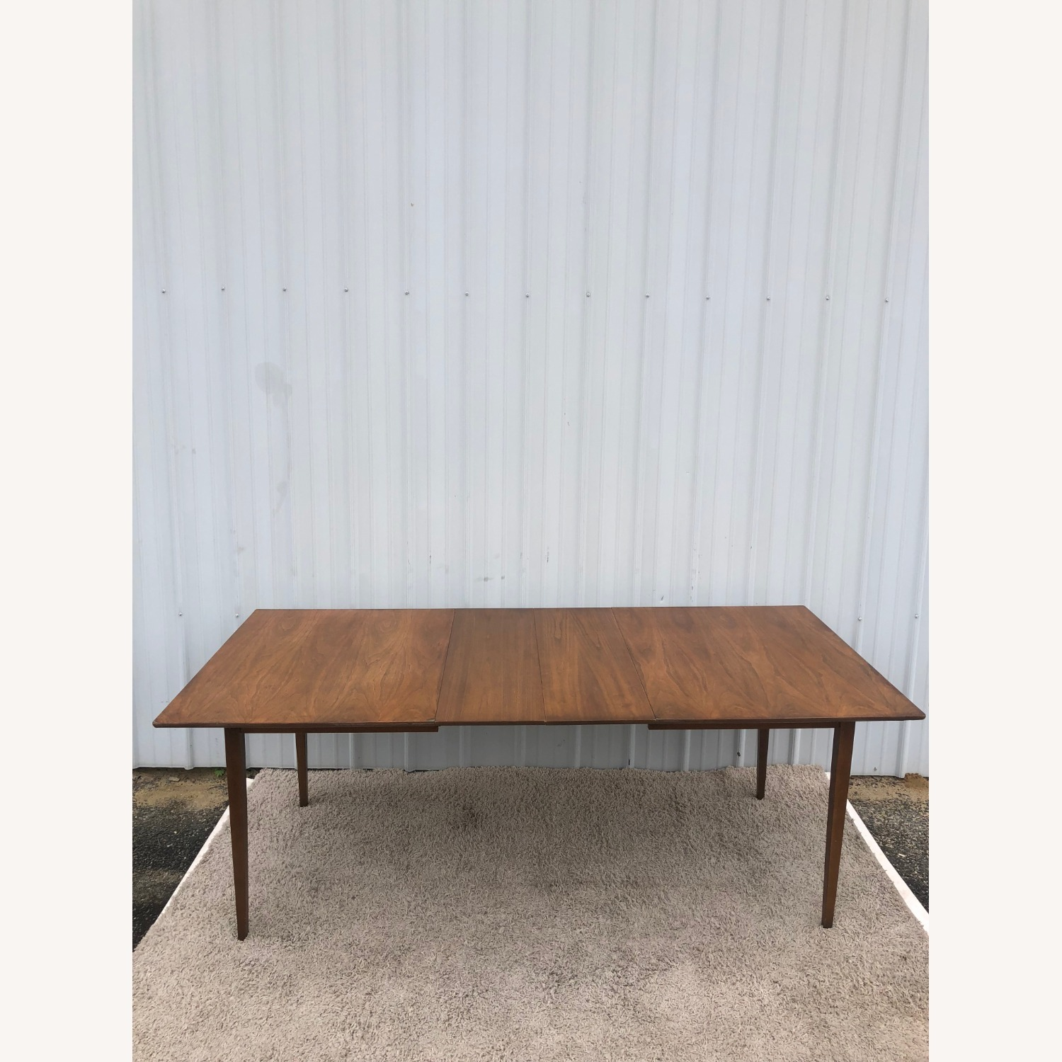 Mid Century Walnut Dining Table with 2 Leafs - image-19