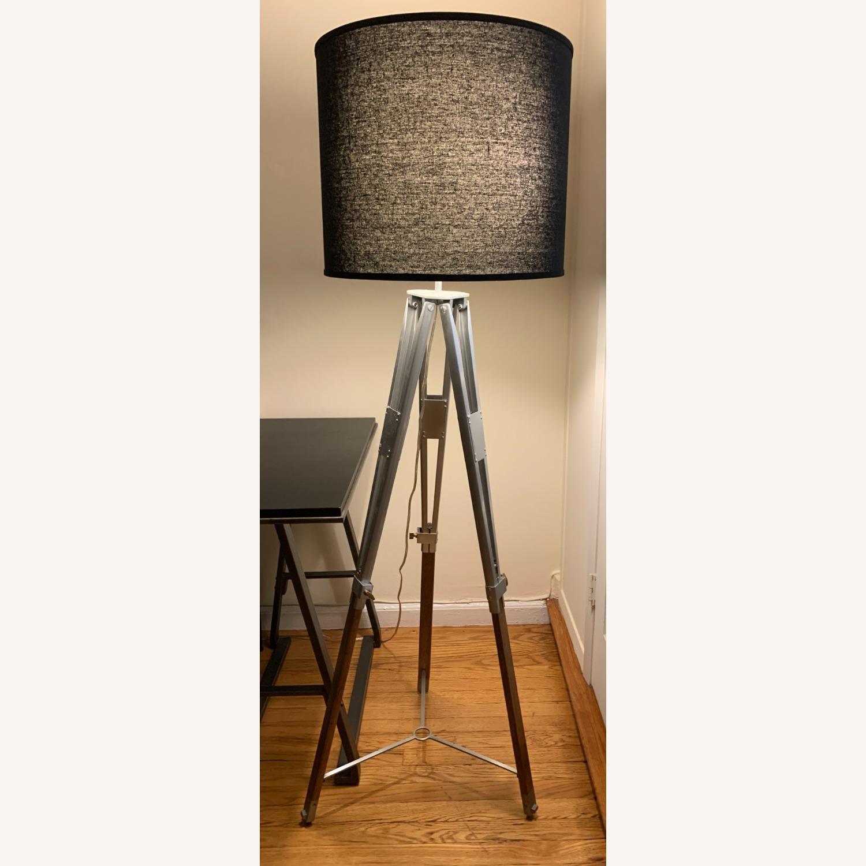 Pottery Barn Tripod Floor Lamp - image-1
