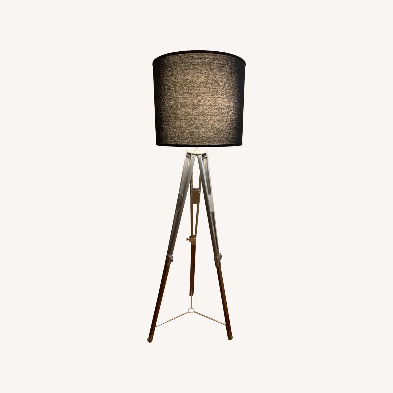 Pottery Barn Tripod Floor Lamp - image-0