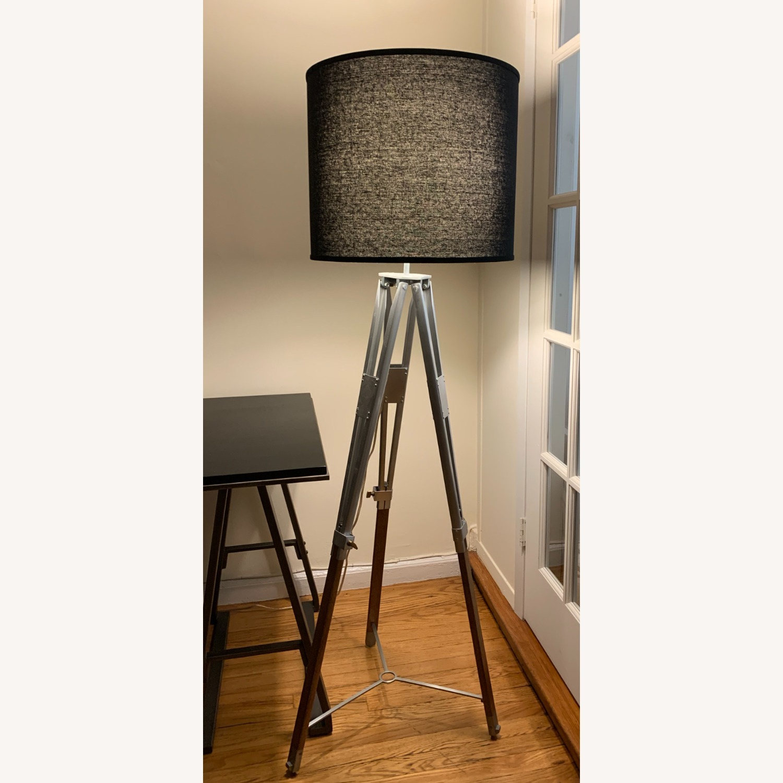 Pottery Barn Tripod Floor Lamp - image-2