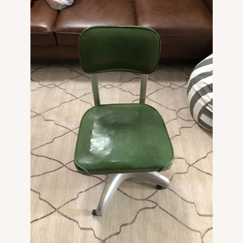 Globe-Wernicke Vintage MCM Metal Desk Chair - image-1