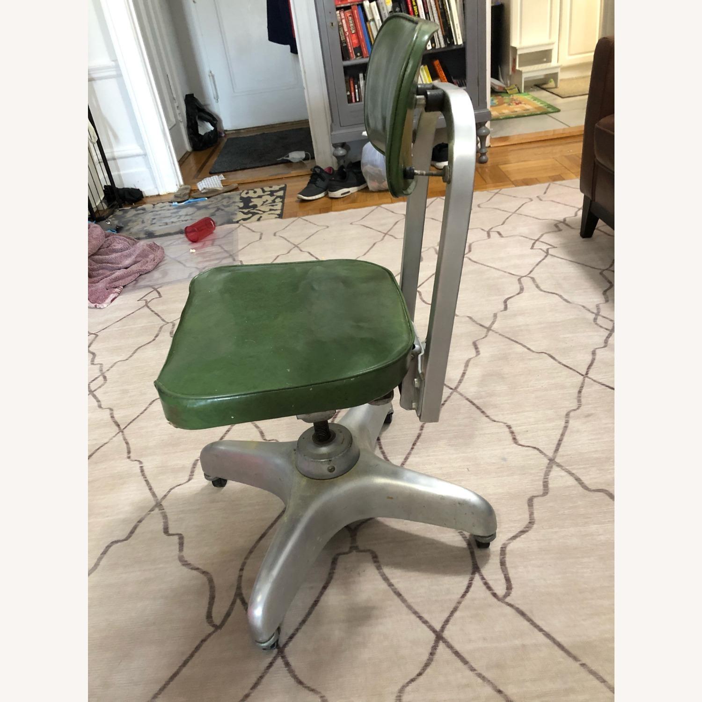 Globe-Wernicke Vintage MCM Metal Desk Chair - image-3