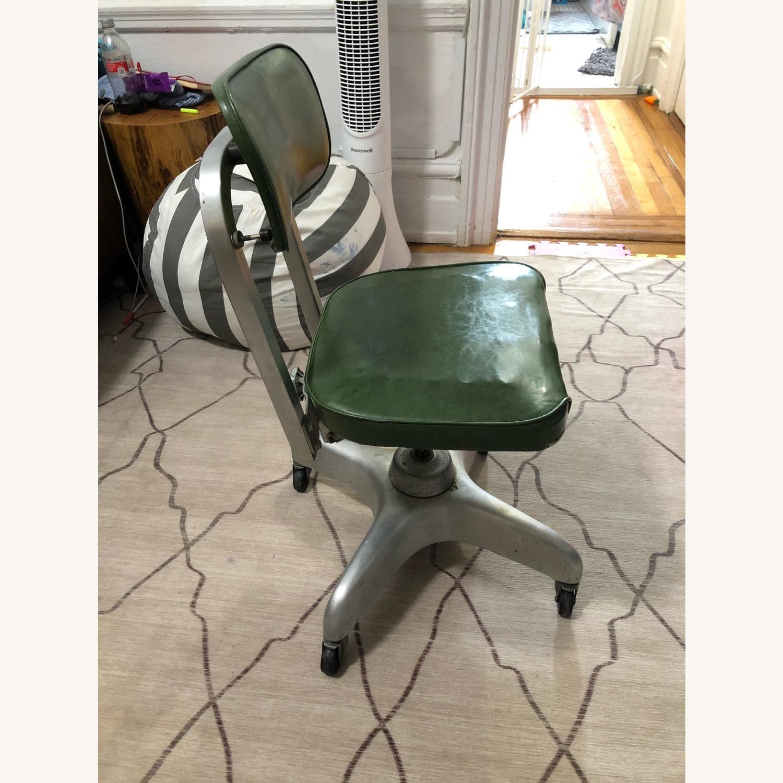 Globe-Wernicke Vintage MCM Metal Desk Chair - image-2