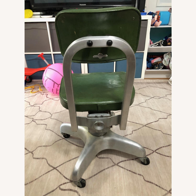 Globe-Wernicke Vintage MCM Metal Desk Chair - image-6