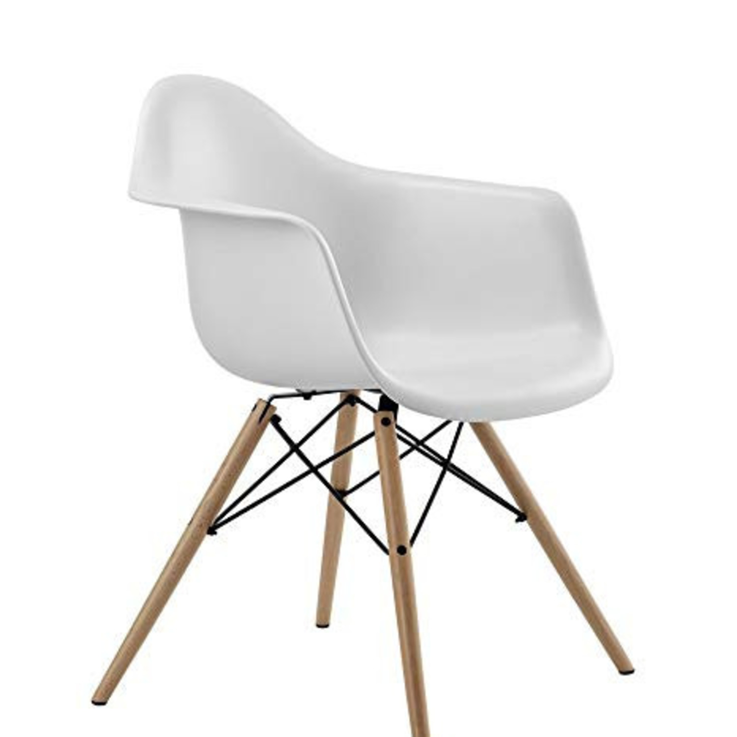 DHP Furniture Mid Century Modern Chair (Set of 2) - image-1