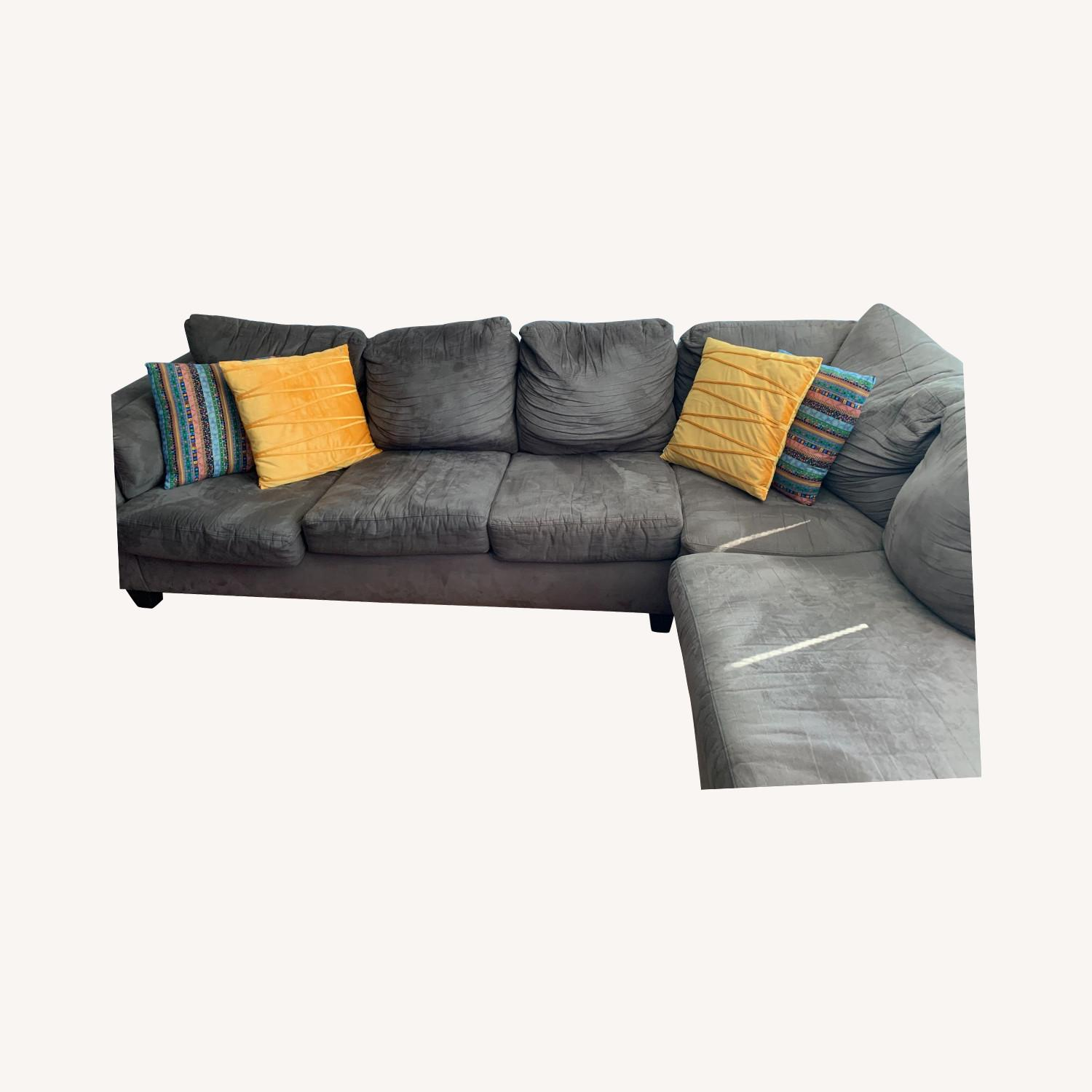 Bob's Discount Furniture Comfy Sectional - image-0