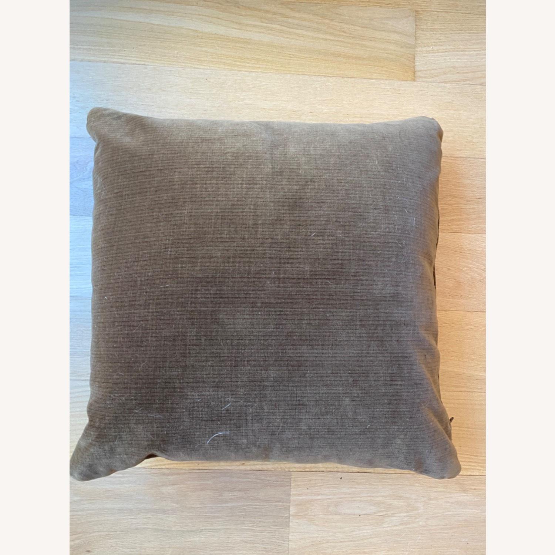 Vintage Wool Throw Pillow - image-1