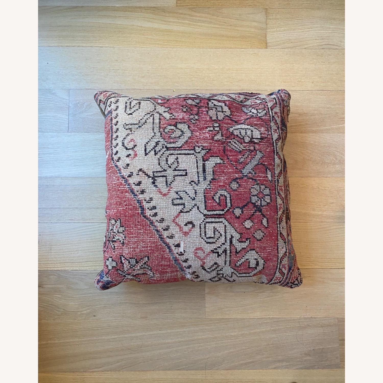 Vintage Wool Throw Pillow - image-3
