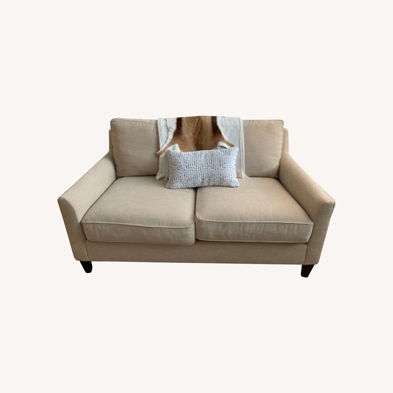 Pottery Barn Loveseat - image-0