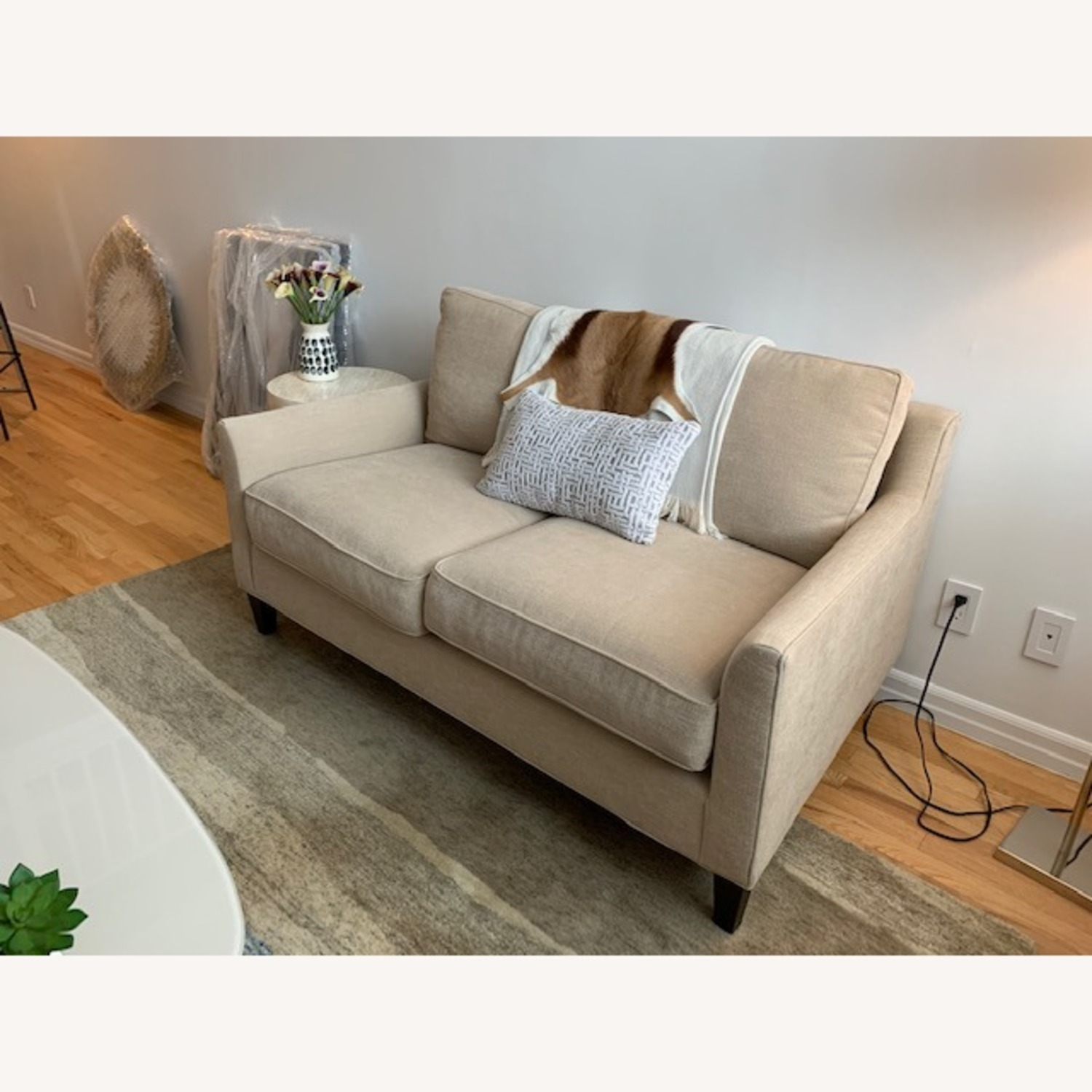 Pottery Barn Loveseat - image-2