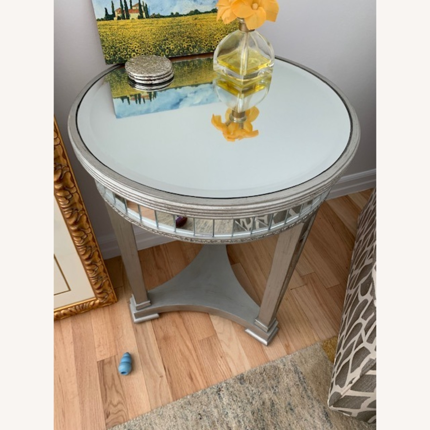 Mirrored Side Table - image-3