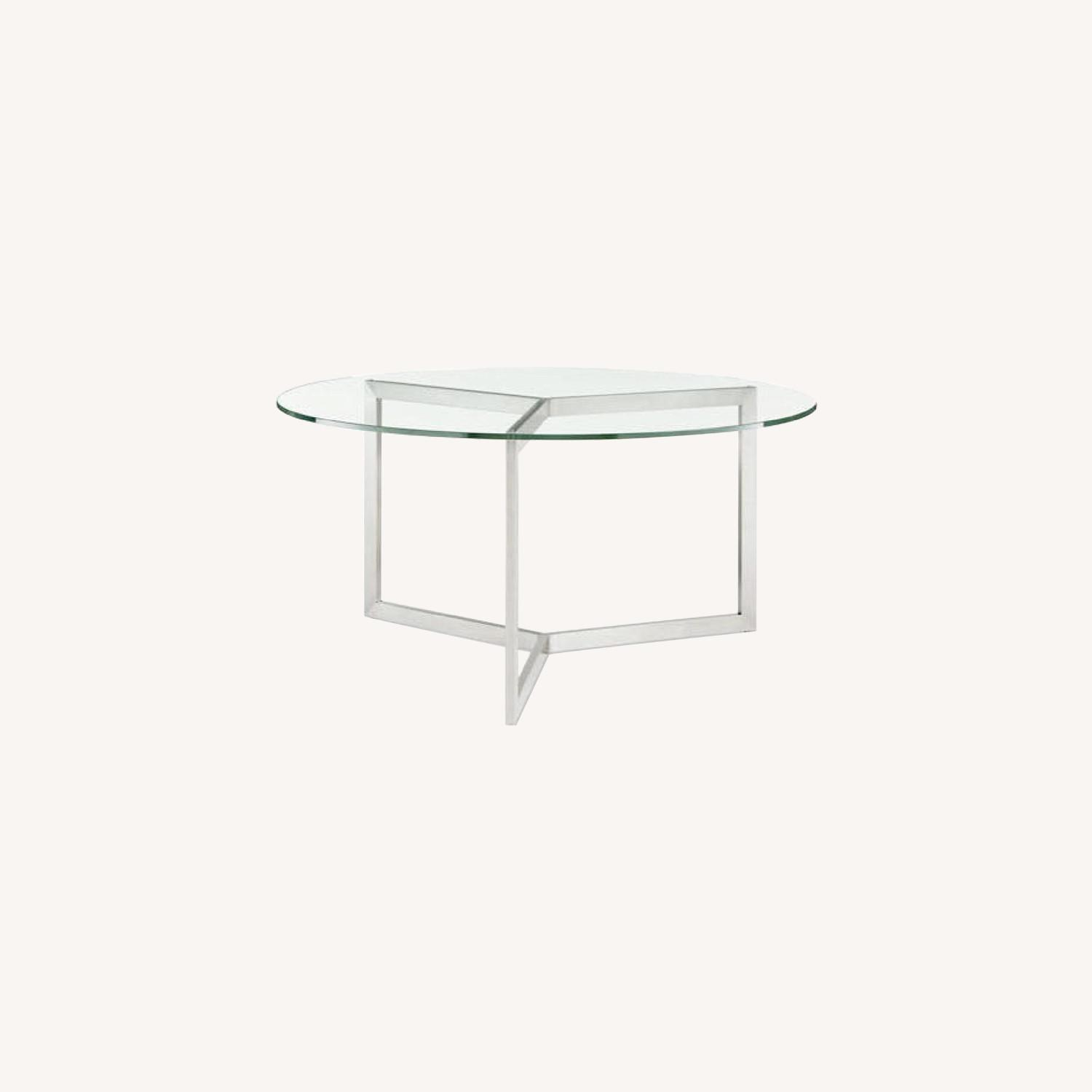Room & Board Glass Dining Table - image-4