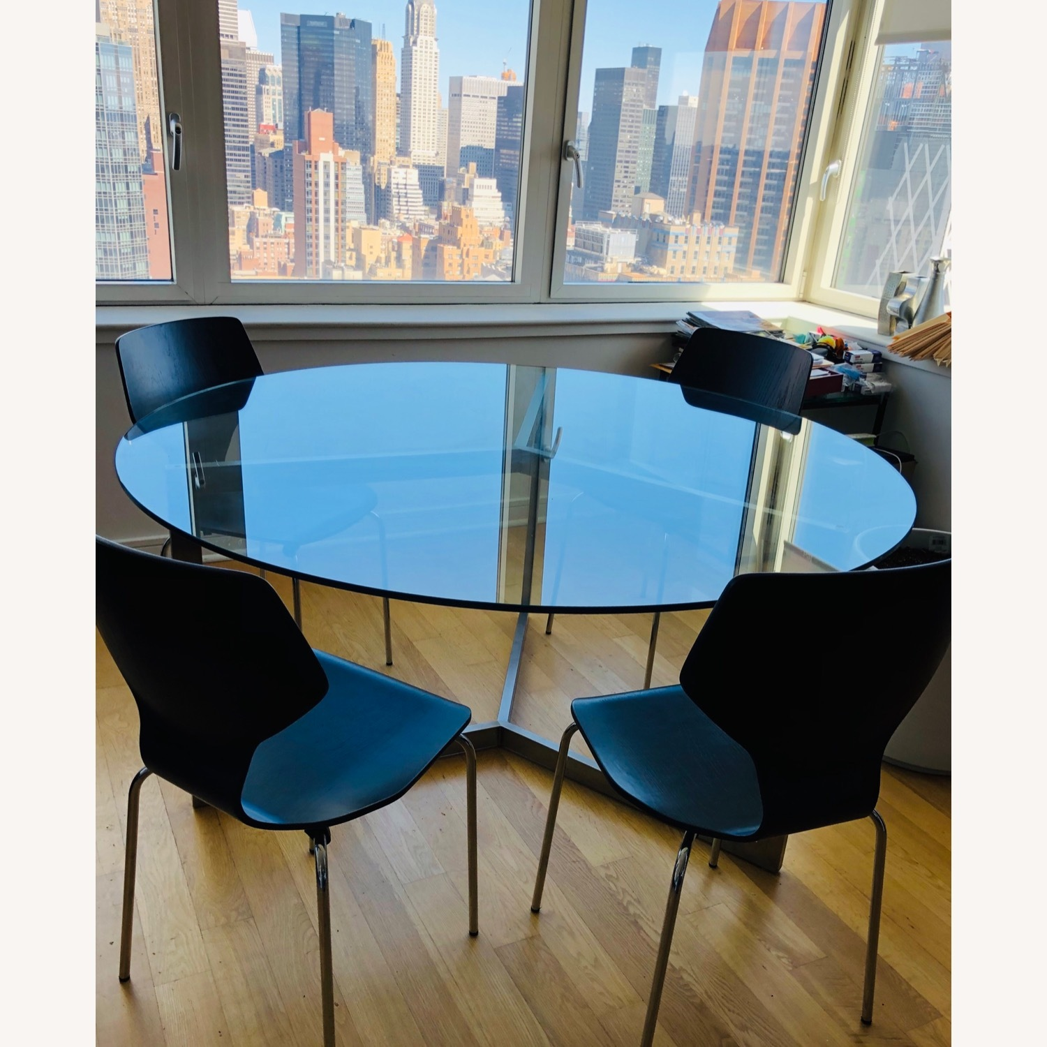 Room & Board Glass Dining Table - image-1