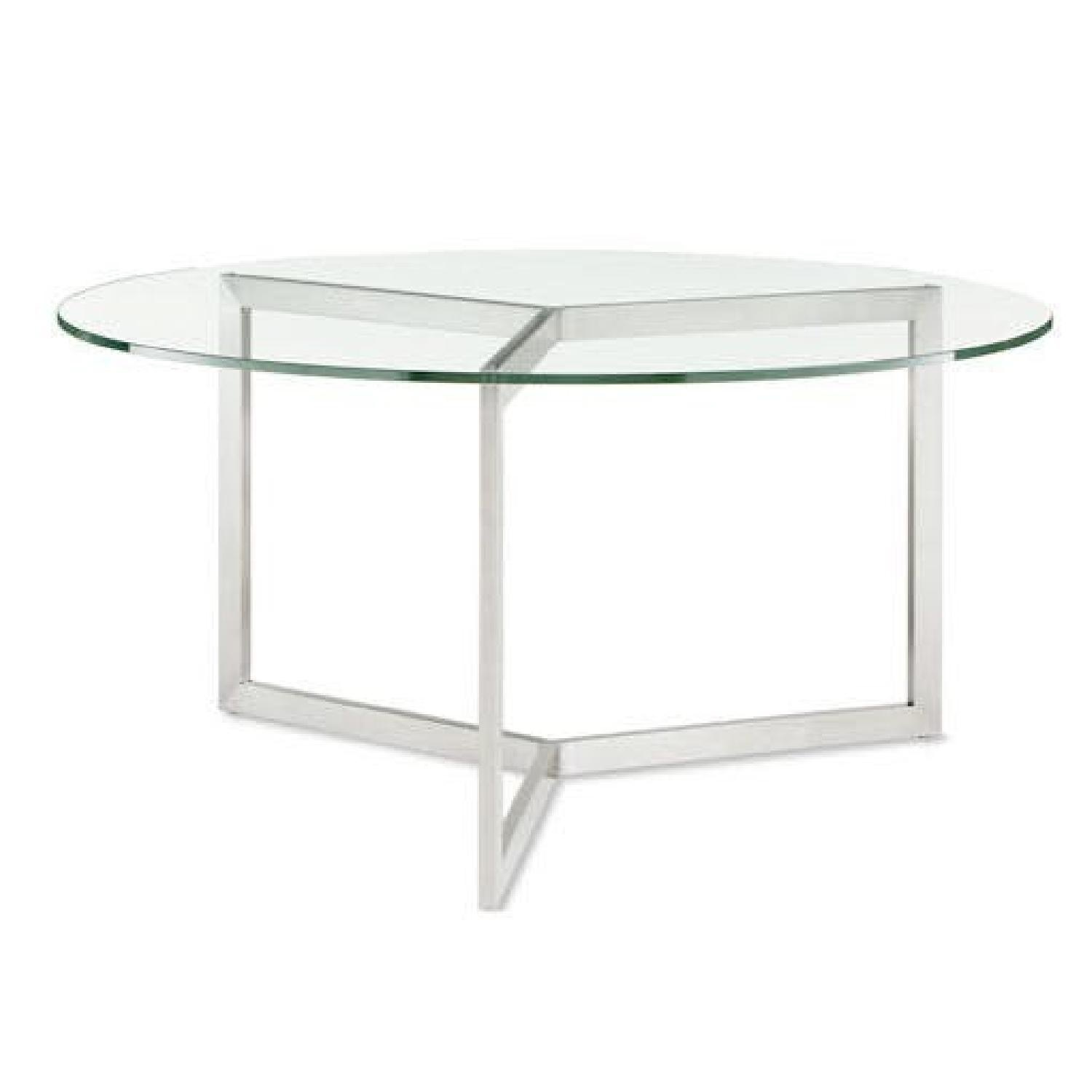 Room & Board Glass Dining Table - image-0