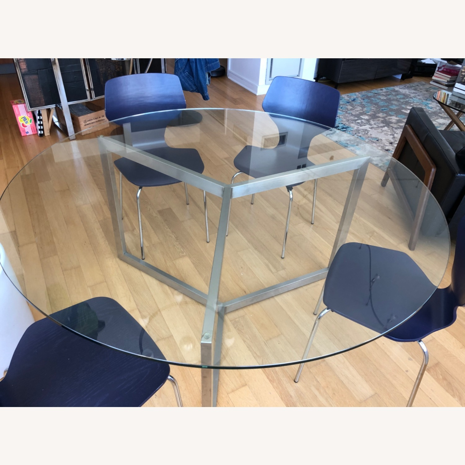 Room & Board Glass Dining Table - image-3